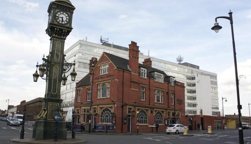 Warstone Lane, the centre of Birmingham's Jewellery Quarter (Photo: Carla Pedret)