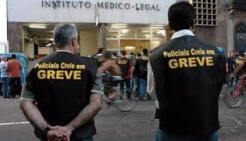 Resultado de imagem para Greve de policiais civis de Pernambuco é decretada ilegal pela Justiça