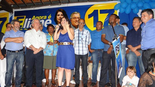 gonzaga apoia eliane/Foto assessoria Gonzaga