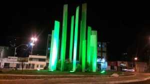 monumento da integração verde