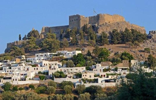 Pueblo y Fortaleza de Lindos