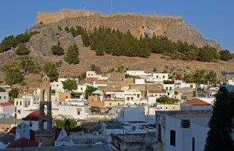 Pueblo y Acrópolis de Lindos