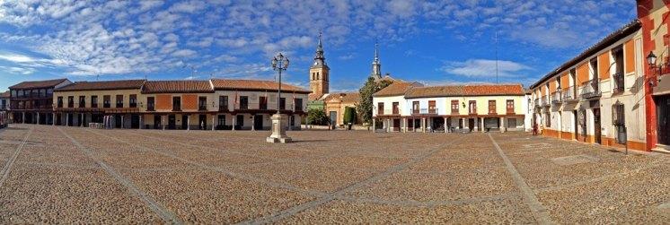 Plaza de Segovia. Navalcarnero (Madrid)