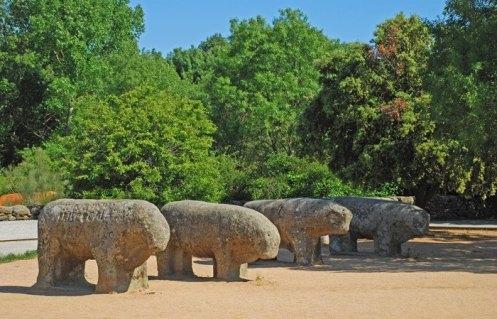 Los Toros de Guisando en Verano