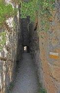 Acueducto Romano - Tajo en roca