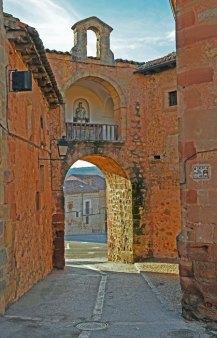 Puerta del Sol de las Murallas de Sigüenza