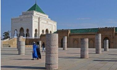 Explanada de la Mezquita y Mausoleo de Mohammed V