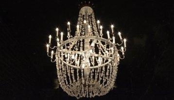Lámpara en la Capilla de Santa Kinga