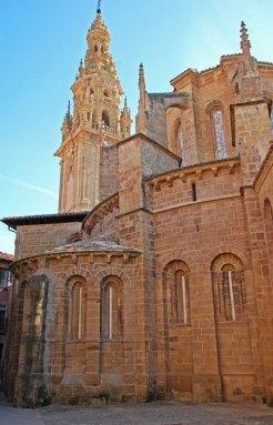 Ábsides románicos de la Catedral de Santo Domingo de la Calzada