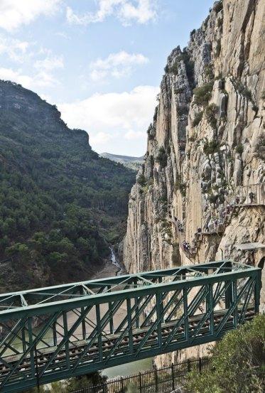 Puente del ferrocarril a Málaga