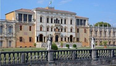 Villa Contarini. Edificio Central