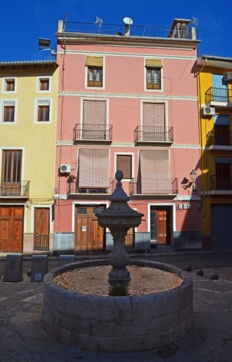 Plaza Alejandro VI - Fuente de Aldomar