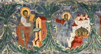 Monasterio Sucevita. Árbol de Jesé. Detalle