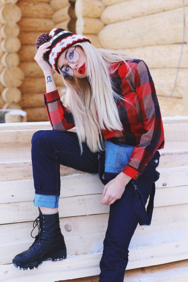 HOW TO LOOK COOL IN CHALET OUTFITS by LEVI'S