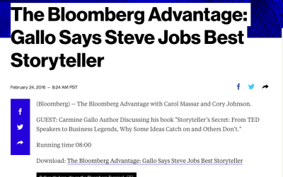 Bloomberg Advantage Radio Interview