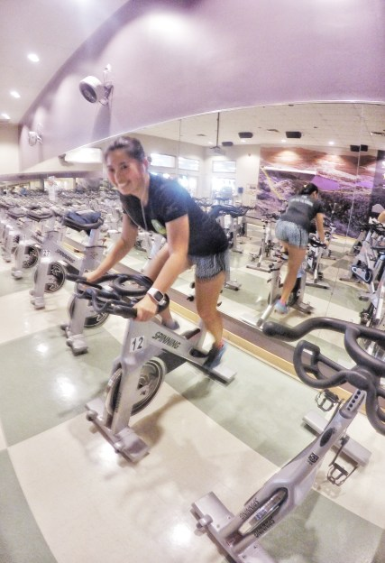 GoodLife Fitness spinning