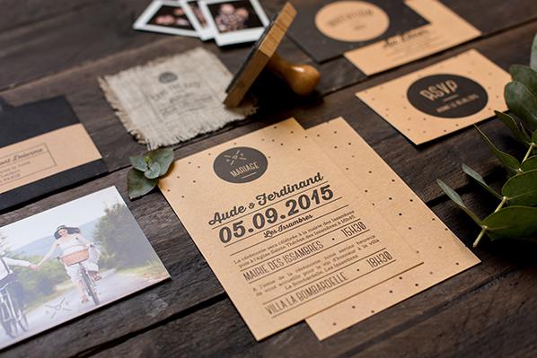 My Dear Paper - Wedding Krafty collection - Photo by Cyrielle Mothas
