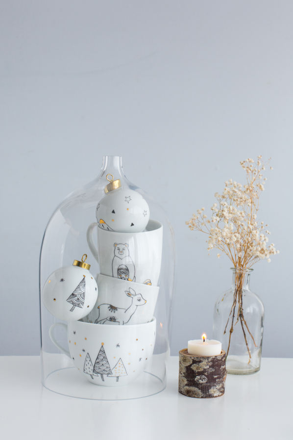 Christmas ceramic - Carnets parisiens