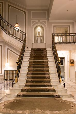 Hotel Maria Cristina in San Sebastian - Stairs