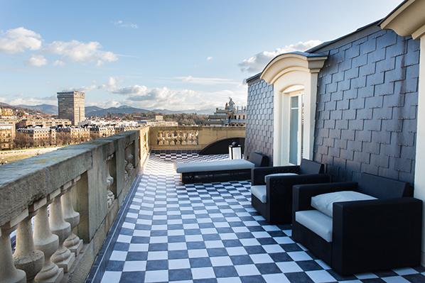 Hotel Maria Cristina in San Sebastian -  Suite