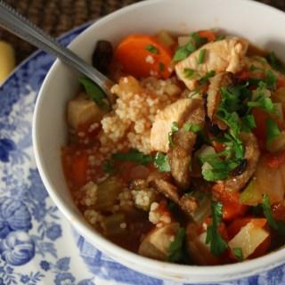 Chicken, Vegetable & Couscous Stew