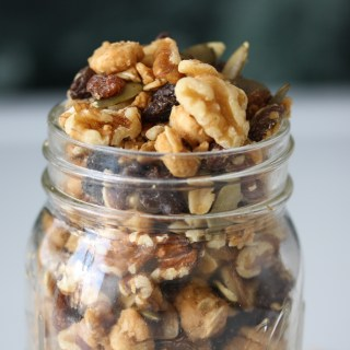 peanut butter cookie trail mix