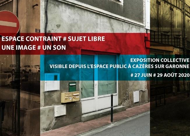 Espace contraint/sujet libre - Une image/un son - PAHLM