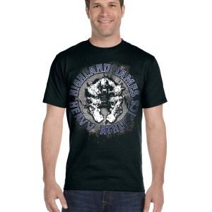 Blue HGHA Shirt front