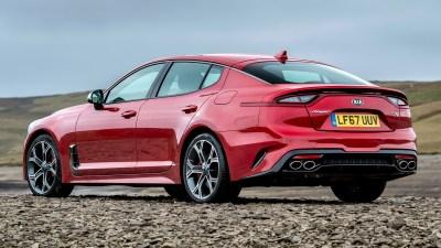 2017 Kia Stinger GTS (UK) - Wallpapers and HD Images | Car Pixel