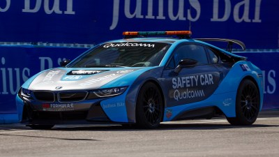 2018 BMW i8 Formula E Safety Car - Wallpapers and HD Images | Car Pixel