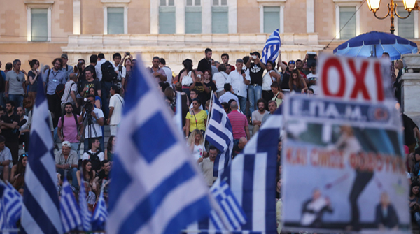 ATHENS, GREECE - JULY 05 (Photo by Christopher Furlong/Getty Images)