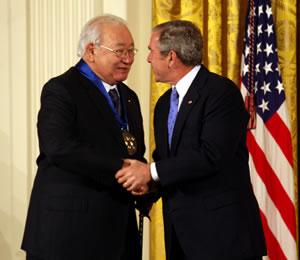 N_Scott_Momaday_George_W_Bush