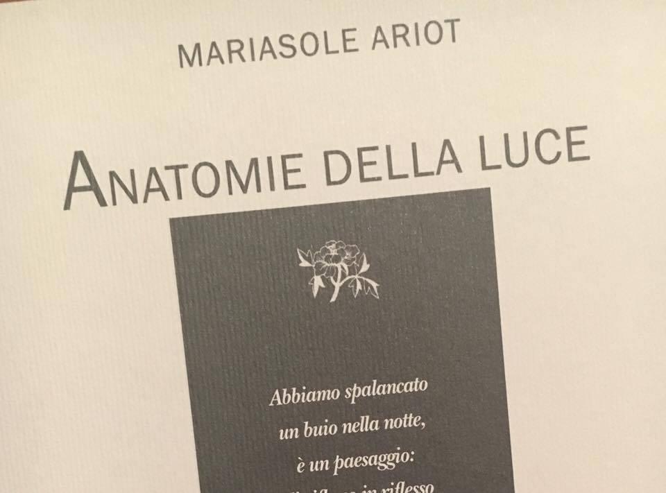 MARIASOLE ARIOT copertina