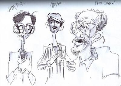 Jeremy Bernstein drawing