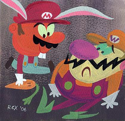 Rex Hackelberg painting