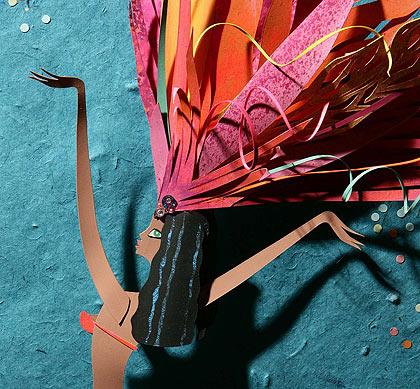 Paper Sculpture by Megan Brain