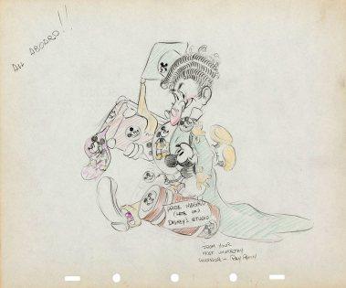 Ray Patin drawing