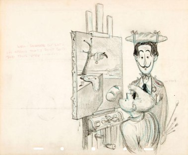"""Tom Oreb says to Dali, """" Well, Salvador Ole Cat, I'm afraid that I don't quite dig this jive——."""""""