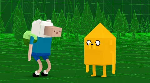 Adventure Time Computer Animation