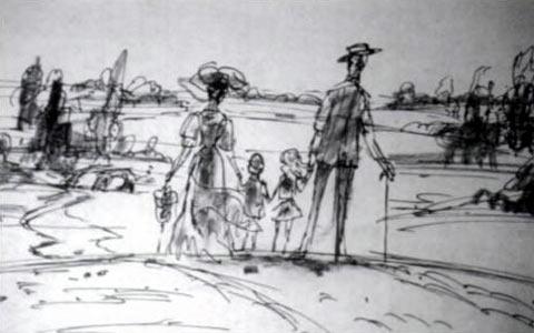 Mary Poppins layout