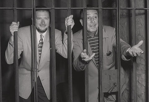 Ronald Searle and Walt