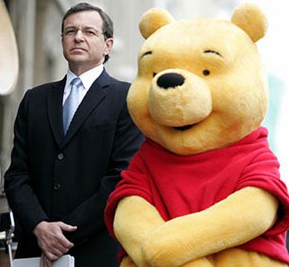 Bob Iger and Winnie the Pooh