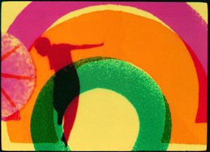 Len Lye's Rainbow Dance