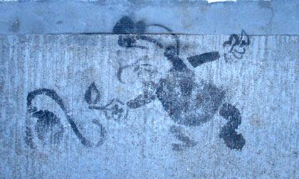 Magoo graffiti