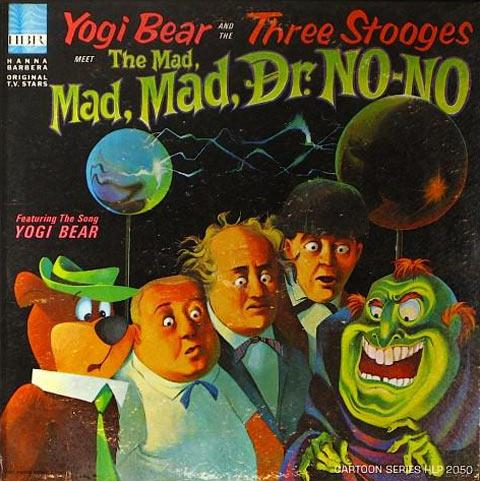 Yogi Bear and the Three Stooges