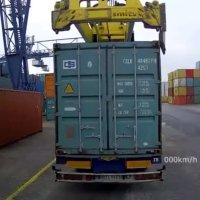 Container will sich nicht trennen...