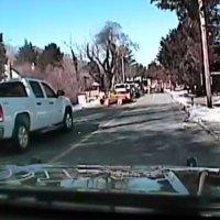 Gasexplosion mit Dashcam gefilmt
