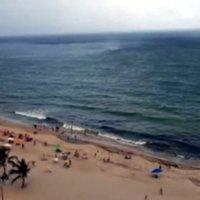 Kleiner Strand-Tornado