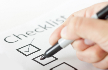 checklist for carwash show