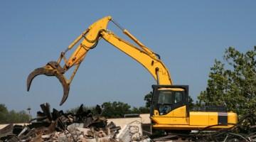 Demolished, demolition